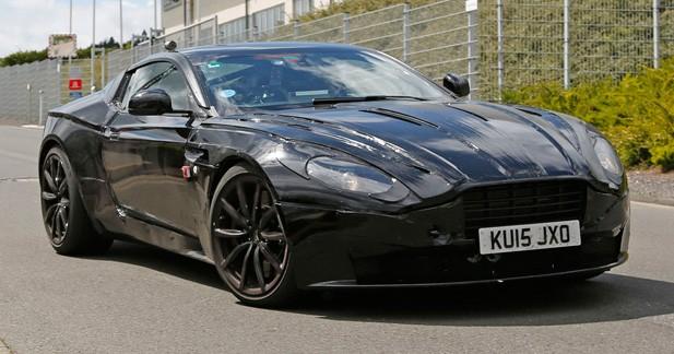 Spyshots: la nouvelle Aston Martin DB9 (ou DB11?) en montre un peu plus