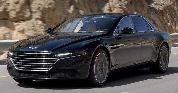 Photo : l'Aston Martin Lagonda sous toutes les coutures