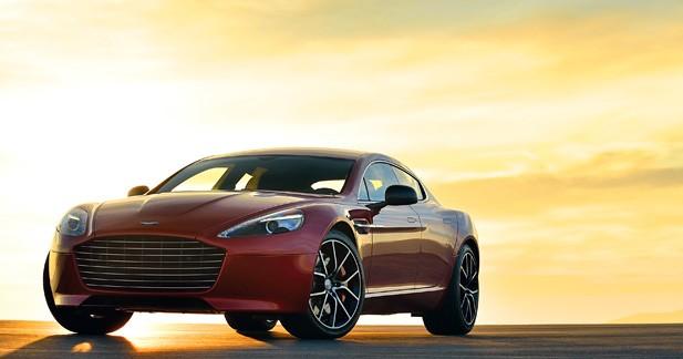 Aston Martin Rapide: une version électrique de 800 ch en 2017