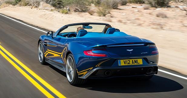 Aston Martin Vanquish Volante : La Vanquish s'aère les idées