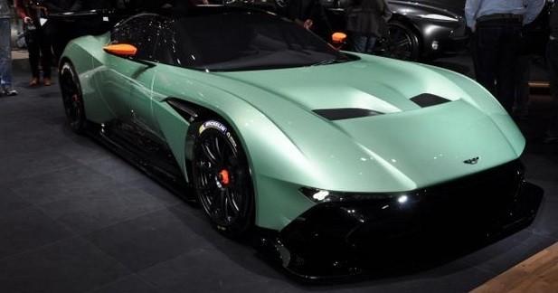 Aston Martin Vulcan: plus de 800 ch et 24 exemplaires