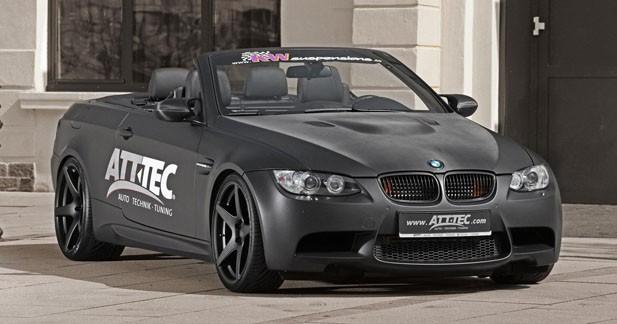 ATT-TEC pousse la BMW M3 à 520 ch