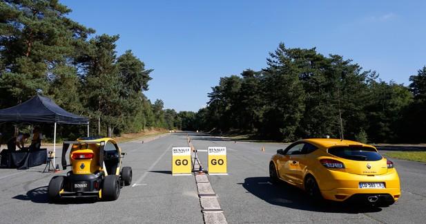 Face à la Renault Mégane RS