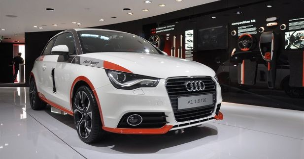 Audi A1 Kit Competition, look sportif