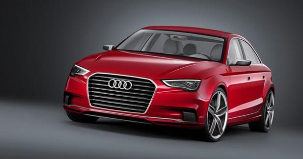 Audi A3 berline : Premières informations officielles