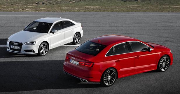Audi lance l'A3 et la S3 en version berline à Shanghaï
