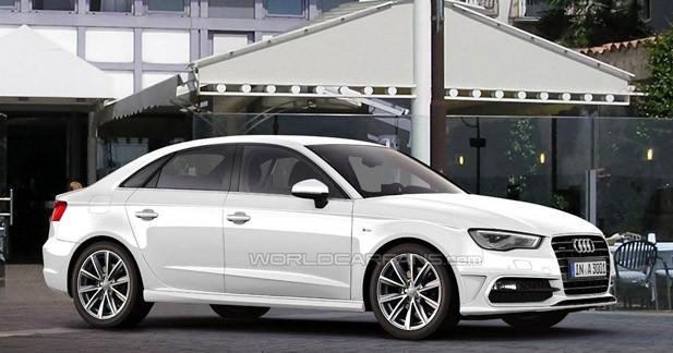 L'Audi A3 en version 4 portes est prévue pour fin 2012 aux USA