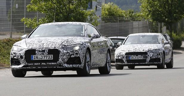 Spyshots: la seconde génération d'Audi A5 est en développement