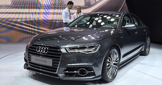 Mondial Auto 2014 : l'Audi A6 restylée évolue en douceur