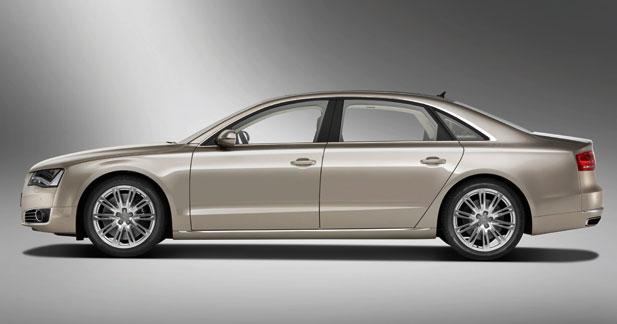 Audi A8 L : la version rallongée au salon de Pékin