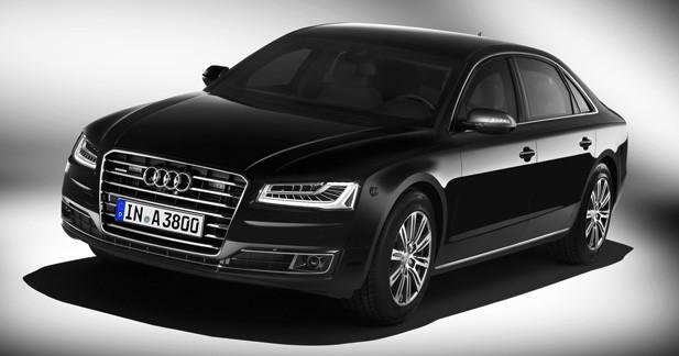 Audi A8 L Security : bunker de luxe
