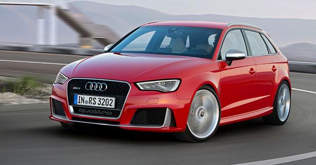 Audi RS3 Sportback: un 5 cylindres encore plus puissant