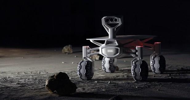 Audi enverra une voiture sur la lune en 2017