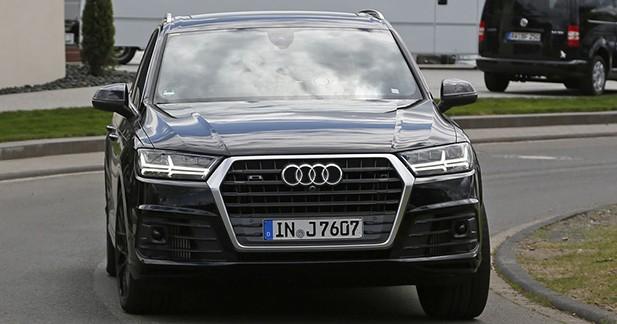 Spyshots: on a aperçu le futur SQ7 d'Audi sans camouflage