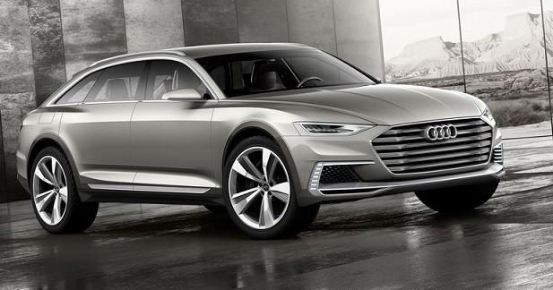 Audi Prologue Allroad: la famille s'agrandit
