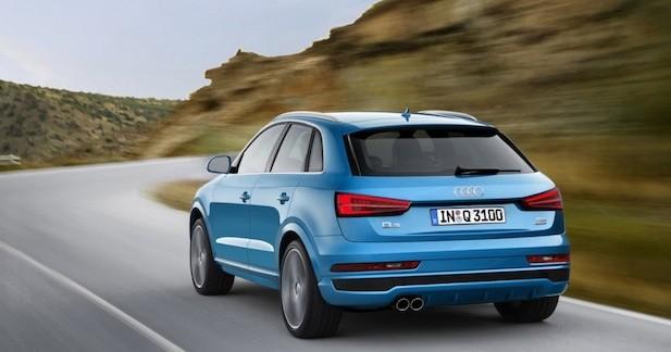 Audi offre un restylage aux Q3 et RS Q3