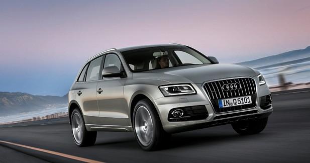 Audi Q5 restylé : Par petites touches…