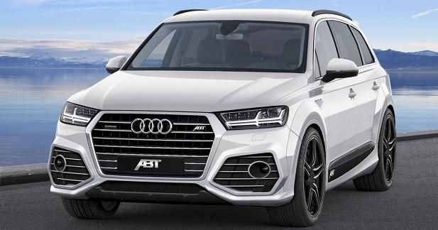 L'Audi Q7 passe entre les mains de ABT