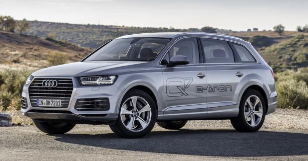 Audi Q7 etron: aux alentours de 80 000 euros