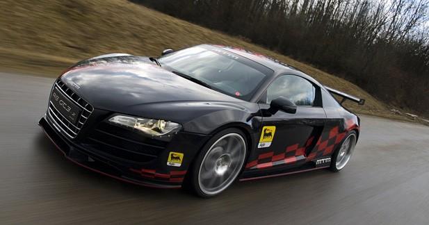 Audi R8 GT3-2 MTM : arrière toute