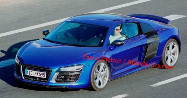 Audi R8 restylée : nos images exclusives