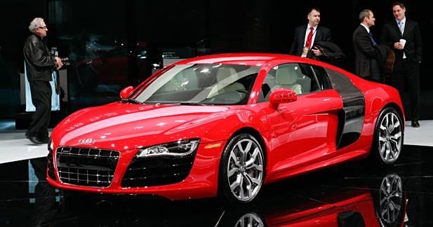 Audi R8 V10 FSI : 525 ch prêts à bondir
