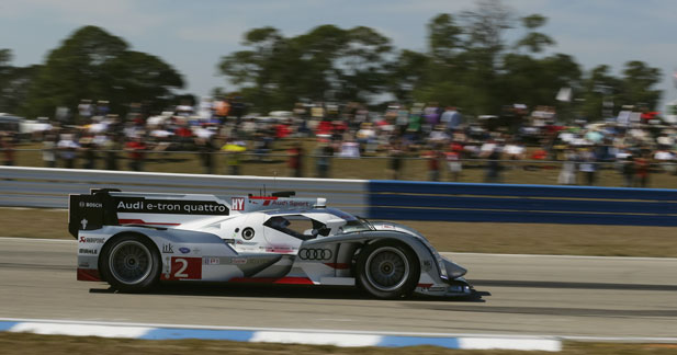 12 h de Sebring : nouvelle victoire de l'Audi R18 e-tron Quattro