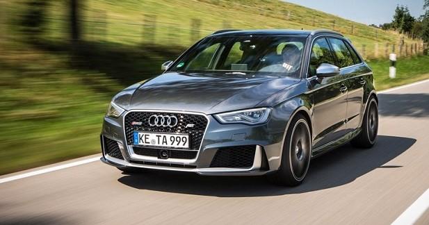 Audi RS3 Sportback par ABT: une déménageuse forte de 430 ch