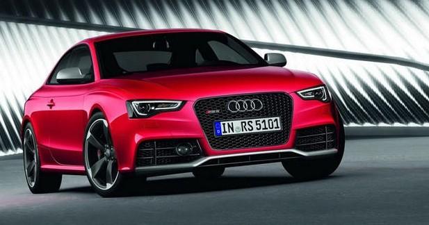 Audi RS5 restylée: Caprice de star ?
