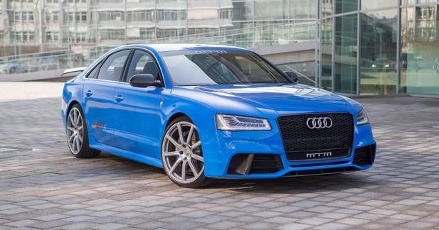 Audi S8 MTM Talladega S: 802 ch et un 0 à 100 en 3,1 s