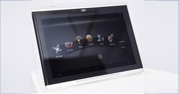Audi Smart Display : la tablette d'Audi