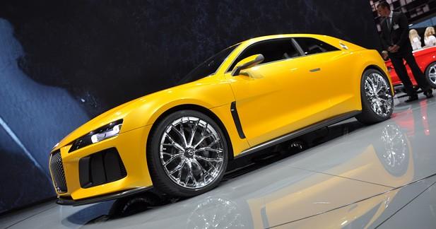 Audi Sport Quattro Concept 2013 : place au ''Sport''