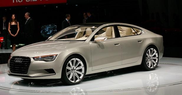 Audi Sportback Concept : l'A7 en filigrane