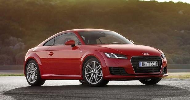L'Audi TT accueille le 1.8 TFSI de 180 ch