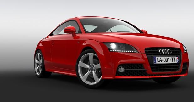 Audi TT Design Edition : cadeau de fin de vie