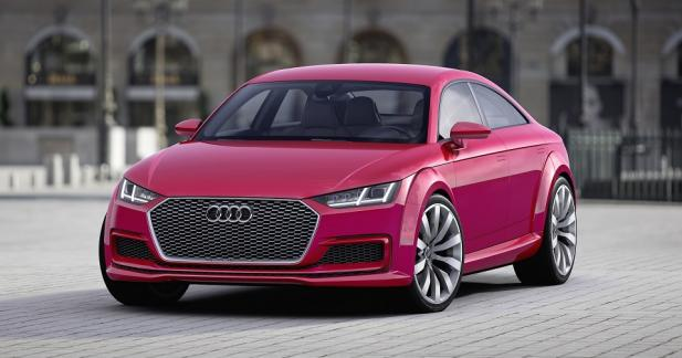 L'Audi TT Sportback de série au salon de Canton?