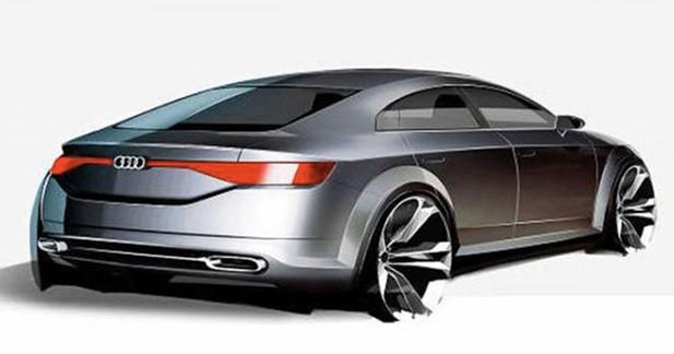Révélation: l'Audi TT Sportback en préparation pour le Mondial
