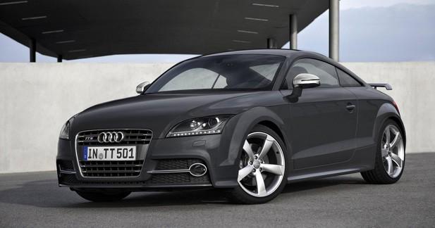 Audi TTS Competition : 500 000 exemplaires de TT, ça se fête !