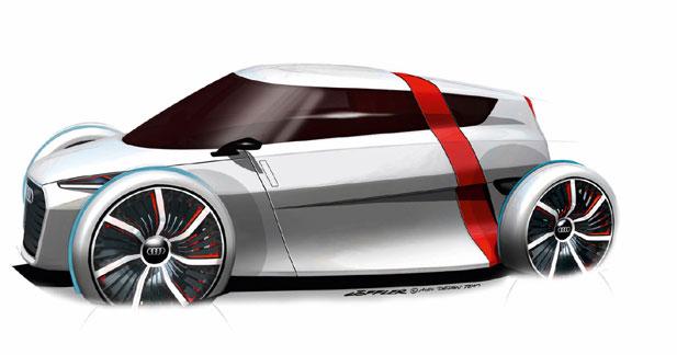 Audi Urban Concept : Coup de jeûne !