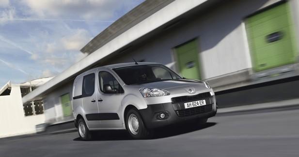 Peugeot Partner : une version électrique pour affronter le Kangoo