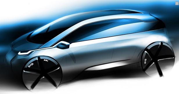 la bmw i5 aura plus de 300 km d 39 autonomie lectrique. Black Bedroom Furniture Sets. Home Design Ideas