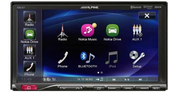 caraudiovideo alpine d voile un autoradio sp cial smartphone. Black Bedroom Furniture Sets. Home Design Ideas