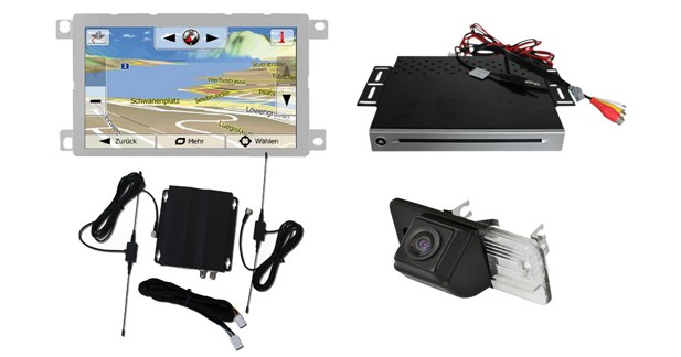 GPS, Bluetooth, DVD, TNT, caméra de recul : un système vraiment complet