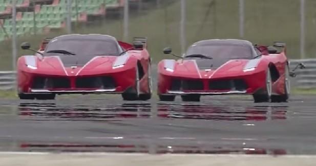 Un duo de Ferrari FXX K se défoule au Hungaroring