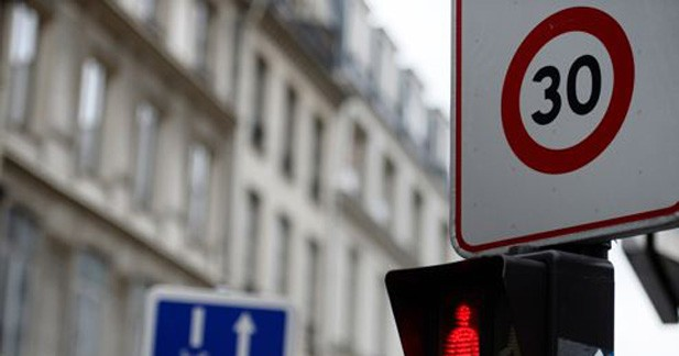 Les ''zones 30'' encore plus nombreuses à Paris