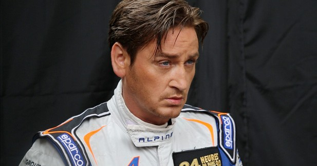 Benoit Magimel n'a pas manqué le retour d'Alpine au Mans