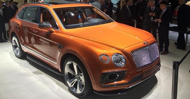 Bentley Bentayga: le roi de la jungle