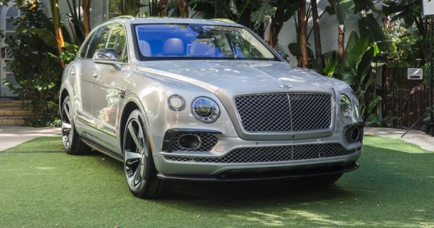 Déjà une série limitée pour le Bentley Bentayga