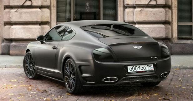Bentley Continental GT Bullet TopCar : détour par la Russie
