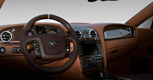 Vilner personnalise l'habitacle de la Bentley Continental GT